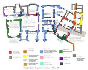 Floor Plan Castle somerset archaeology national trust sw