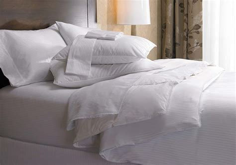 Westin Bedding Set White Stripe Bedding Set Westin Hotel Store