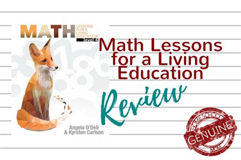 lessons from god for living a books masterbooks math lessons for a living education review