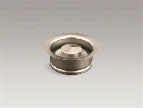 bathroom sink flange kohler disposal flange with stopper contemporary