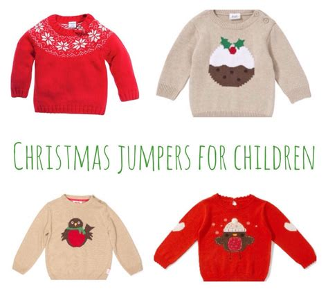 waitrose child christmas jumper jumpers for children a baby on board