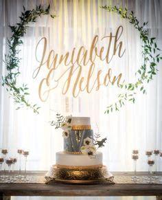 Wedding Organizer Name by Sleek Marble Ceremony Backdrop Unique Wedding Backdrops