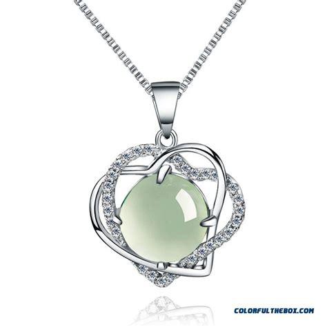 cheap li jin 925 sterling silver necklaces soulmate