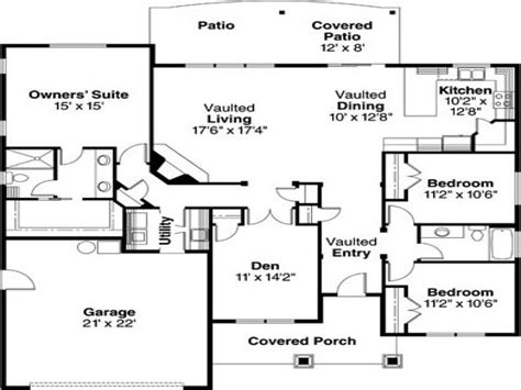 modern bungalow floor plans bungalow house plans modern bungalow house plans 1