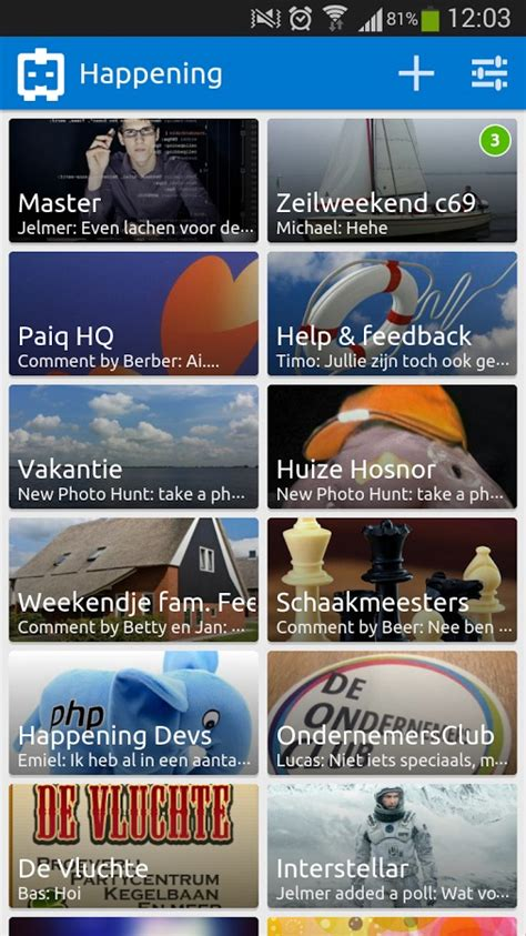 happening nederlandse whatsapp concurrentie met features