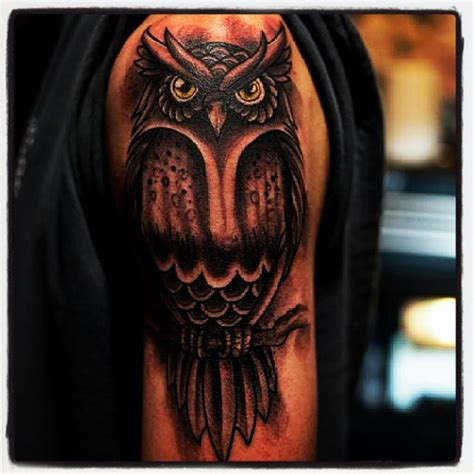 tattoo arm owl arm tattoos and designs page 184