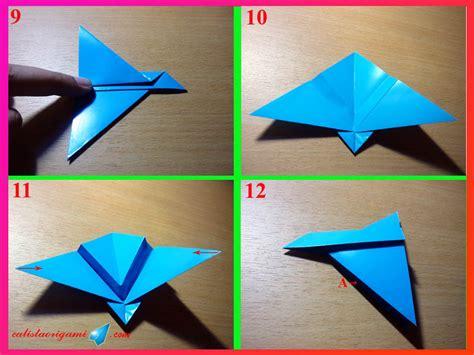 step membuat origami burung cara membuat pesawat luar angkasa dari kertas origami