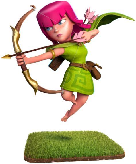 Figure Clans Of Clash Archer Acher clash of clans archer clash wiki