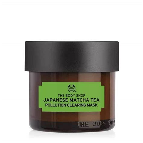 Masker The Shop japanese matcha tea pollution clearing mask 2 5 fl oz