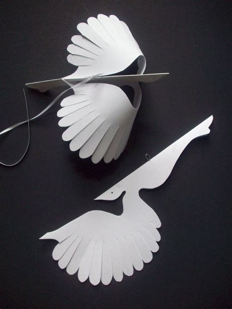 Birds With Paper - 17 best ideas about paper birds on bird