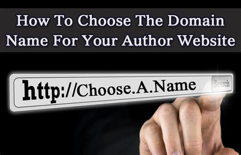 What Makes A Author Website by Web Design Relief Reveals How To Choose The Domain Name