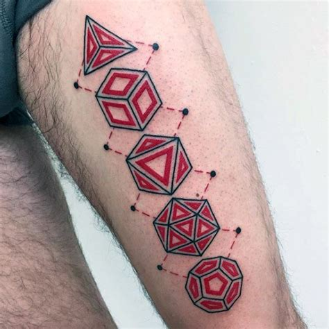 tattoo 3d simple 40 simple geometric tattoos for men design ideas with shapes
