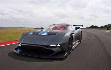 custom aston martin vulcan go on a lap of le mans in an aston martin vulcan