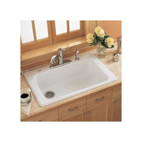 americast kitchen sink faucet 7193 804 345 in bisque by american standard