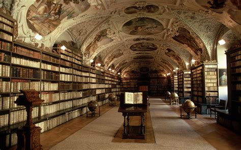 Ornate Bookcase Library Full Hd Wallpaper And Background Image 1920x1200