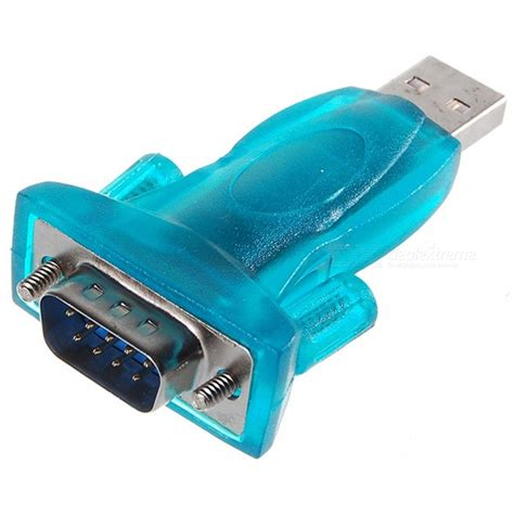 Converter Usb To Serial Port usb to rs232 serial port adapter transparent green