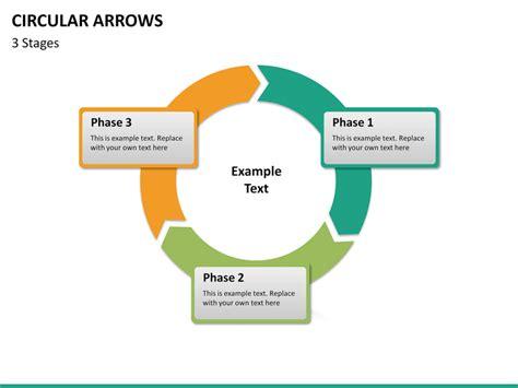 Circular Arrows Powerpoint Template Sketchbubble Circle Of Arrows Powerpoint