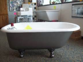 Clawfoot Tub Refinishing Refinishing Of Antique Clawfoot Castiron Tub Traditional