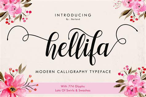 Font Handmade - hellifa handmade calligraphy font navy themes