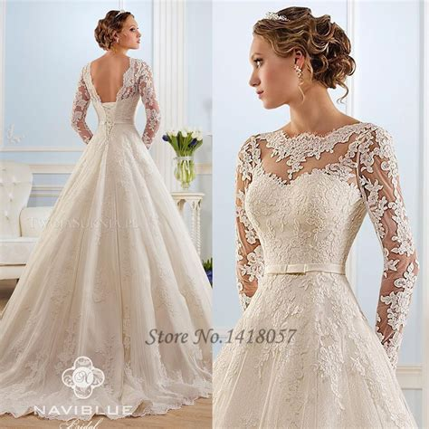 White Lace Wedding Dresses by Aliexpress Buy New White Lace Vintage Wedding Dress