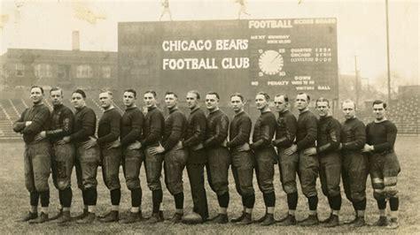 chicago bears team history schedule news photos stats moments in history shsu century season