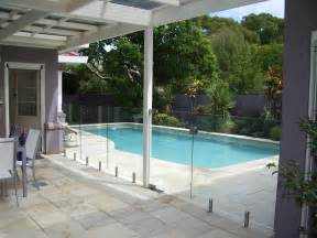 glass swimming pool safety fences design ideas fence