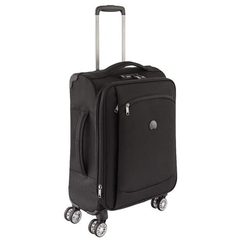 delsey cabin trolley delsey montmartre air 4 wheel expandable slim cabin