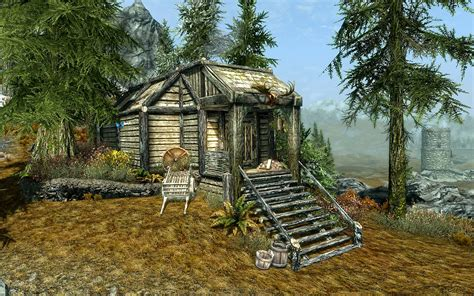 Mod Cabin by Dusks Cabin At Skyrim Nexus Mods And Community