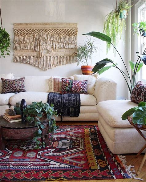 boho chic home decor best 25 boho living room ideas on pinterest brown couch