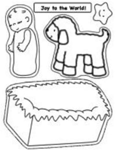 preschool coloring pages of baby jesus thumbnail of printable nativity craft page for baby jesus