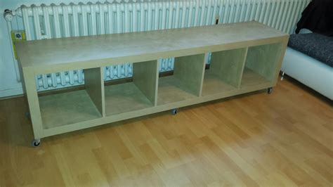 Kallax Als Bank by Gebraucht Expedit Kallax Ikea Tv Regal Bank Stuhl Sitz In