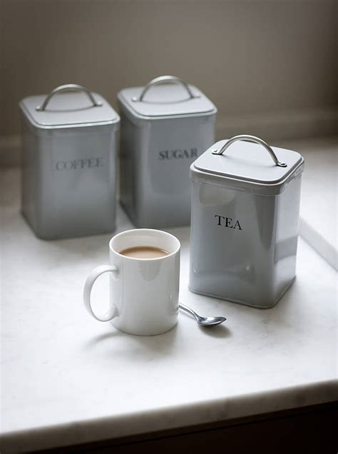 modern kitchen canisters set of kitchen canisters by garden trading