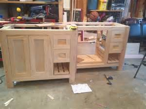 Custom Vanity Plans Tibidin Page 219 Refinish Bathroom Vanity Countertop