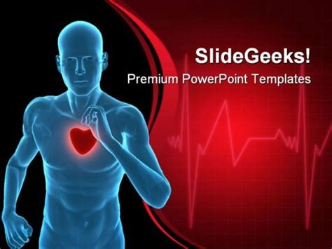 Healthy Heart Concept Medical Powerpoint Templates And Cardiovascular Powerpoint Template Free