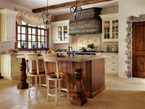 country style kitchen islands create a classic rustic country style kitchen