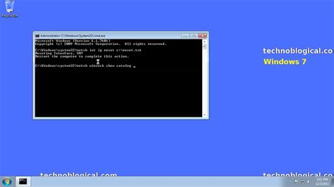 reset ip 1980 win7 windows 7 reset tcp ip and winsock youtube