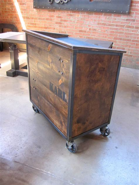 Karl Hostess Stand ? Vintage Industrial Furniture