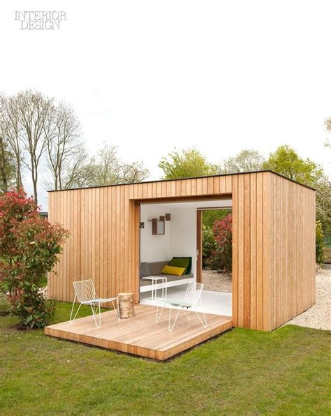 Outdoor Office Shed by Me Gusta Contenedores