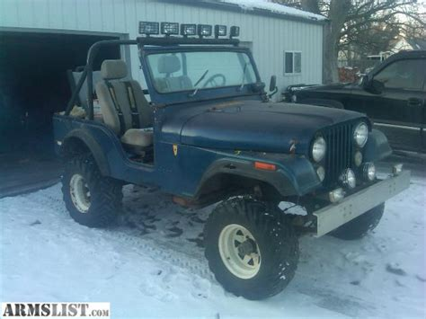 1975 Cj5 Jeep Armslist For Sale 1975 Cj5 Jeep