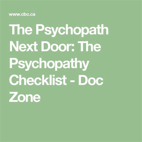 The Narcissist Next Door by 25 Best Ideas About Psychopathy Checklist On