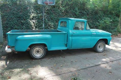truck bed cers for sale sell used 1962 chevrolet c 10 long bed step side in