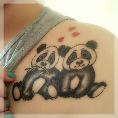 tattoo panda pequena as 25 melhores ideias de panda tattoos no pinterest