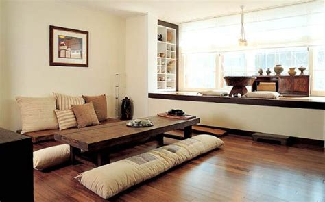 modern hanok korean traditional house living area