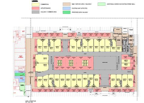 permy street mall level  floor plan