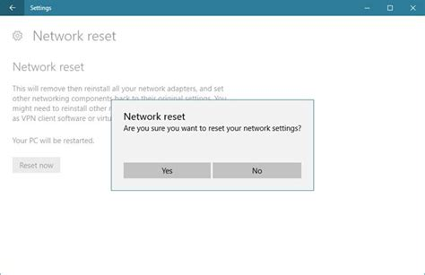 resetting wifi windows 10 how to reset all your windows 10 network adapters with