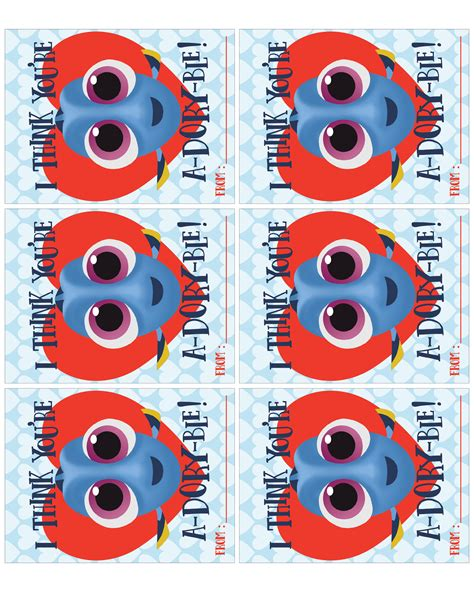 Finding Addresses Of For Free Finding Dory Free Printable S Bundle