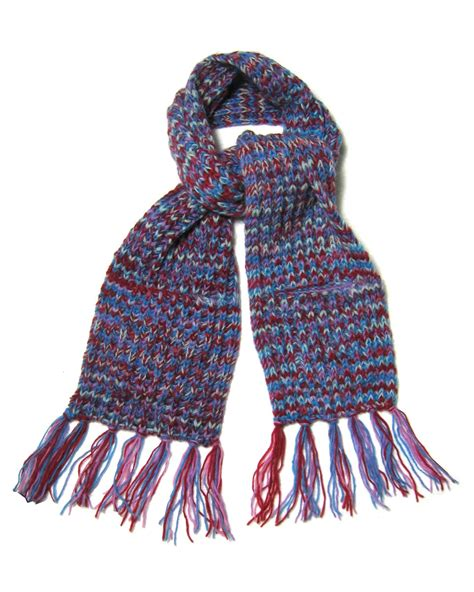 knitted scarves fair true fair trade knit pocket knitted scarf