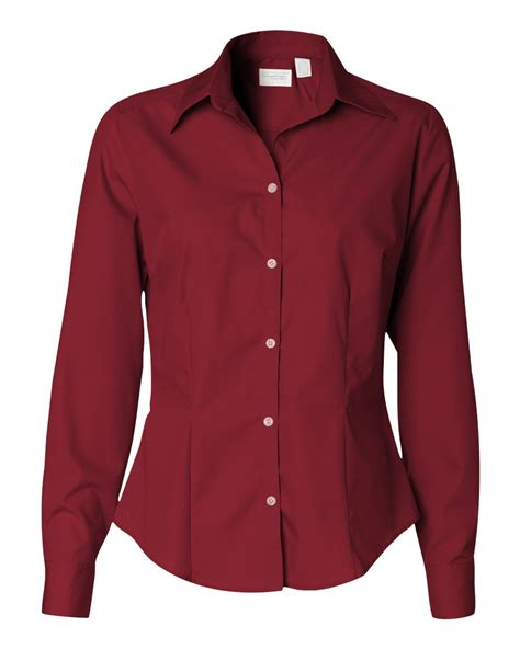 womens dress shirts van heusen ladies silky poplin shirt 13v0114 ebay