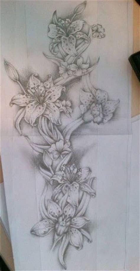 flower tattoo sleeves designs flower sleeve design by tattoosuzette on