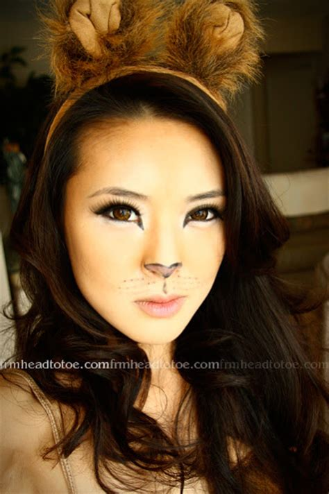 lion makeup tutorial lion halloween makeup tutorial from head to toe